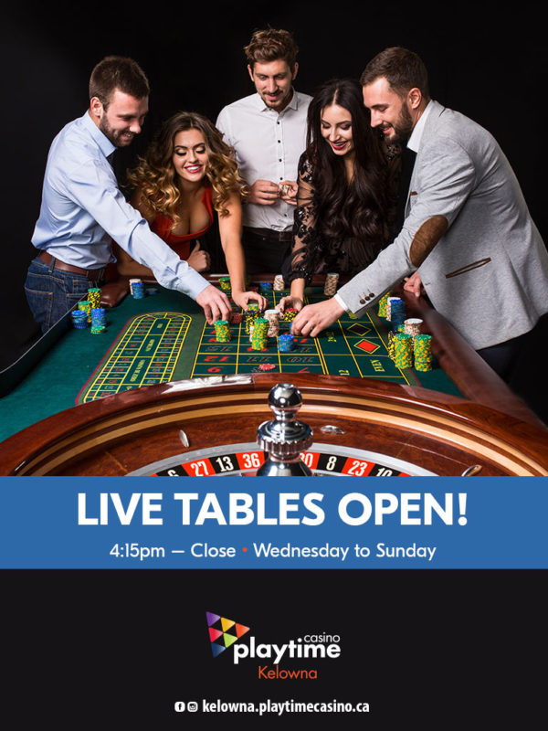 Live Tables open